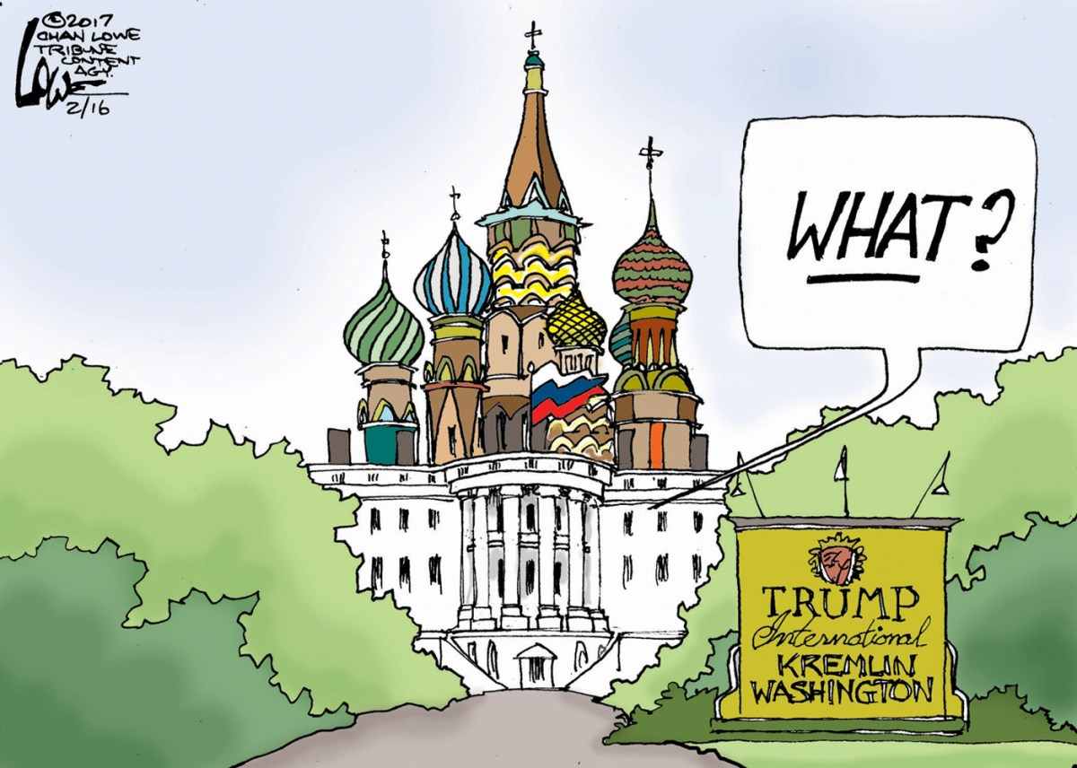 Republicans Beware!  There's a Russian Political Witch Hunt and You're It.
