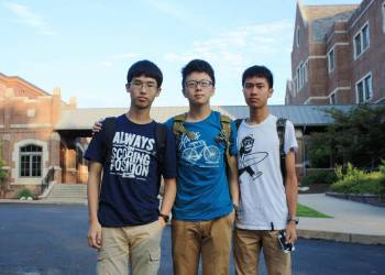 Chinese students. Picture:Montgomery County
