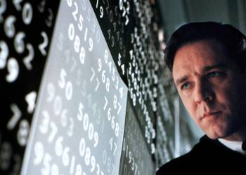 "Actor Russell Crowe portrays mathematical genius John Forbes Nash, Jr. in the drama film, ""A Beautiful Mind,"" in this undated publicity photograph. The film received six Golden Globe nominations, tying for most nominations with ""Moulin Rouge."" Nominations include Best Drama Motion Picture, Best Performance in a Drama Motion Picture for Crowe and Best Performance by a Supporting Actress in a Drama Motion Picture for co-star Jennifer Connelly. The Golden Globe Awards will be presented in Beverly Hills January 20, 2002.  REUTERS/Eli Reed/Universal Pictures-Handout mentall illness schizophrenia"