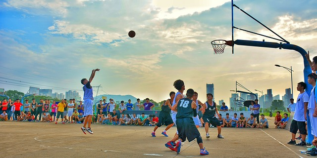 competition sport basketball