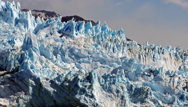 El frente de el Glaciar Upasala - Foto: OPI Santa Cruz/Francisco Muñoz