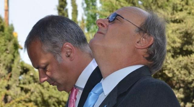 Martín BUzzi y Néstor Di PIerro - Foto: Gentileza EL PATAGONICO