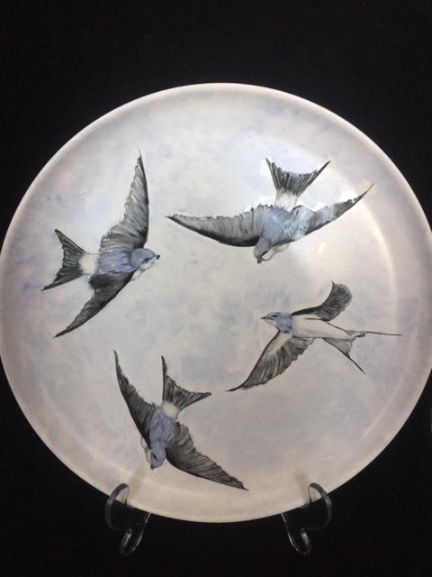 Zwaluwen bord