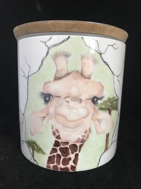 Voorraadpot Giraf