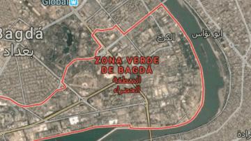 Dois-foguetes-caem-próximo-à-embaixada-dos-Estados-Unidos-em-Bagdá
