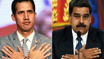 COMBO-VENEZUELA-CRISIS-GUAIDO-MADURO