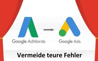 10 teure Google Ads Fehler