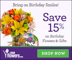 Wow Her! Don't Settle for Less! Get 15% off thoughtful Valentine's Day flowers & gifts only at 1800flowers.com! Use code 15VDAY13 at checkout. (Offer Ends 02/14/13)