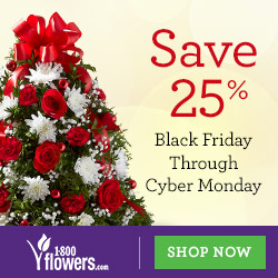 Save 25% on Early Delivery for Mother's Day Flowers & Gifts at 1800flowers.com. Use Promo Code MDAYEARLY at checkout. (Offer Ends 05/08/2014)