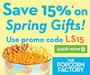Enjoy 20% off sitewide when you shop for all your Halloween popcorn treats at ThePopcornFactory.com! Use promo Code: G20 (Offer ends 10/26/2014)