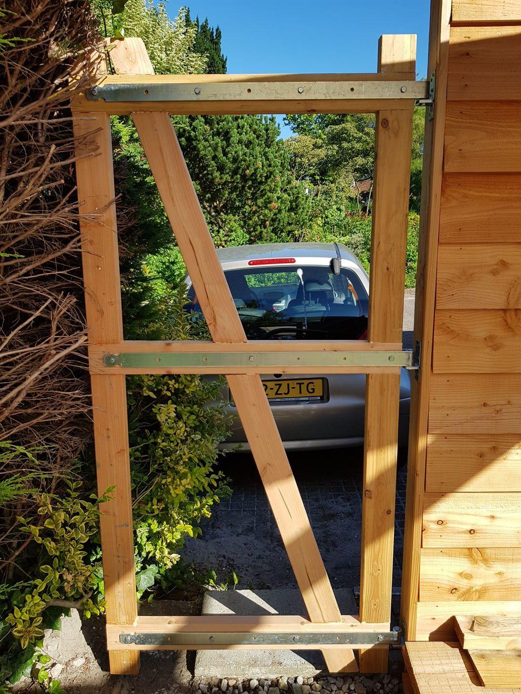 Solar veranda in aanbouw