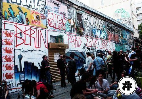 Paris Zone Libre : Berlin squat Belleville