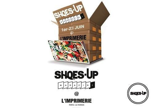 Shoes-Up Magazine à l'Imprimerie