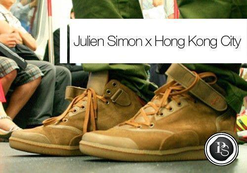 Julien Simon x Hong Kong City