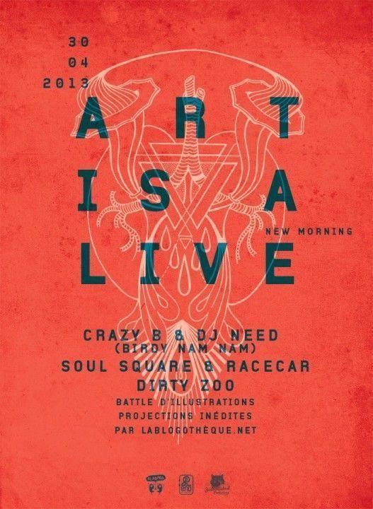 Art Is A Live #4 Visuel