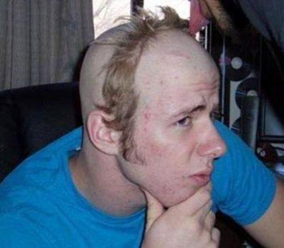 coiffure pourrie