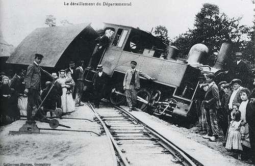 accident de trains