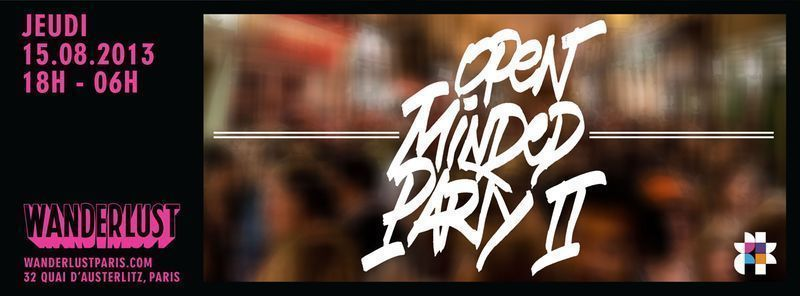 Open Minded Party Wanderlust