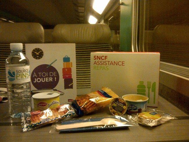 SNCF assitance repas