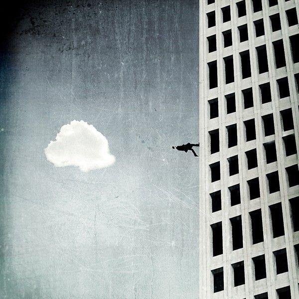 Immeuble et nuage