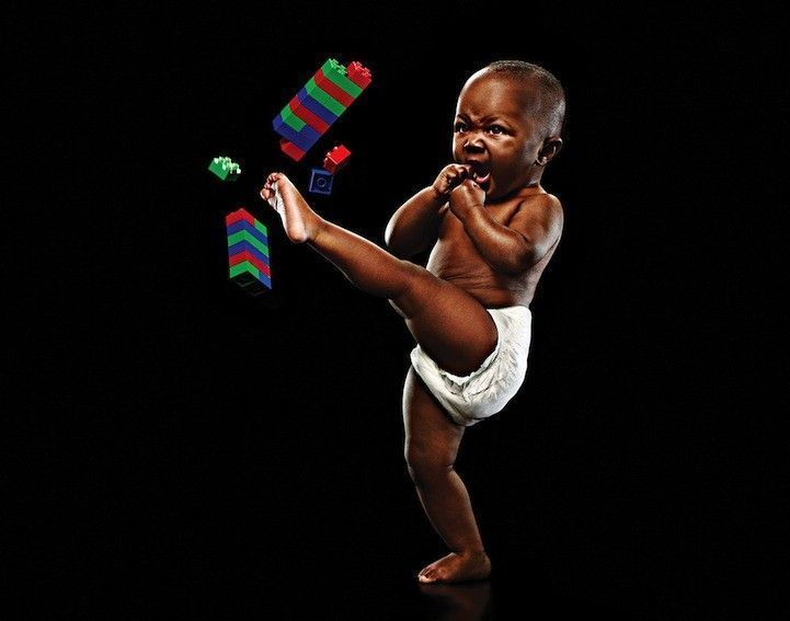 bébé-karaté-ninja