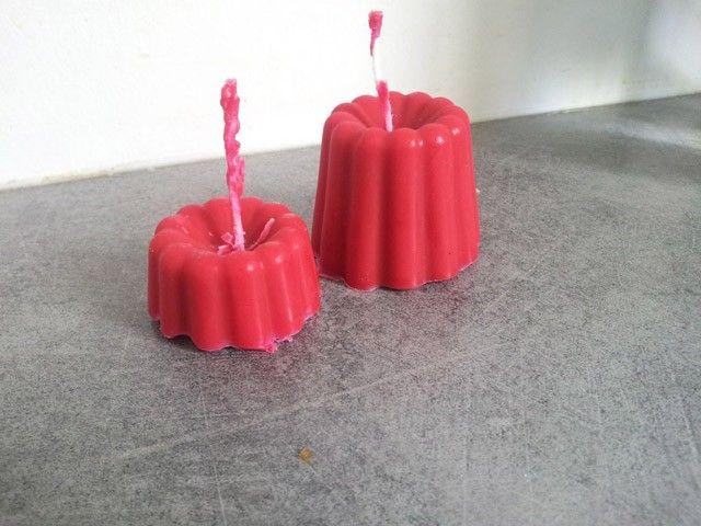 Les bougies en babybel