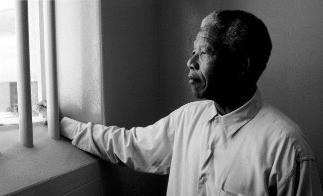 Mandela en prison