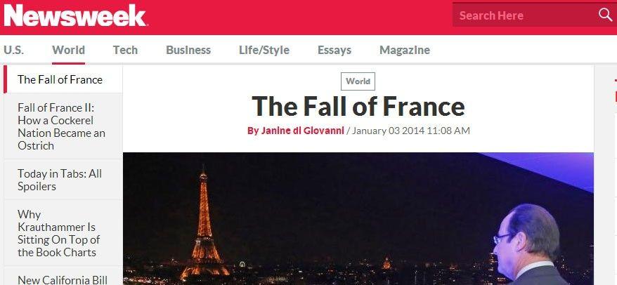 Newsweek the fall of france