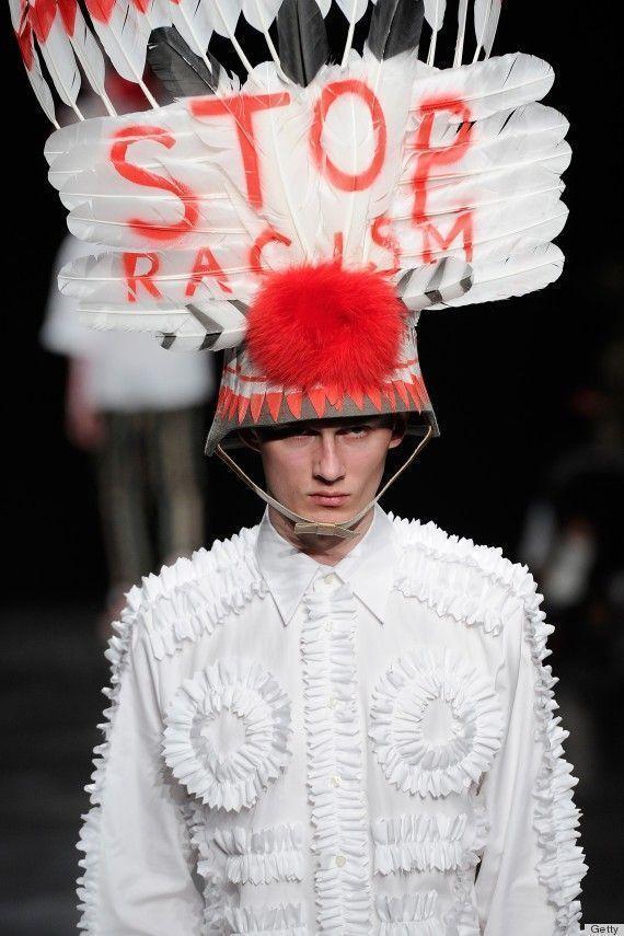 Walter Van Beirendonck : fashion week stop racism