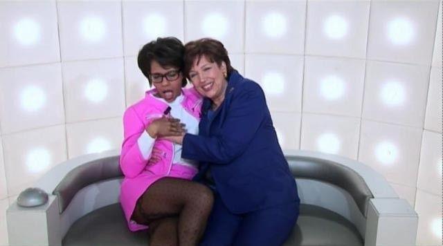 Audrey pulvar roselyne bachlo