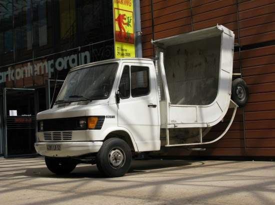 Camion gymnastique