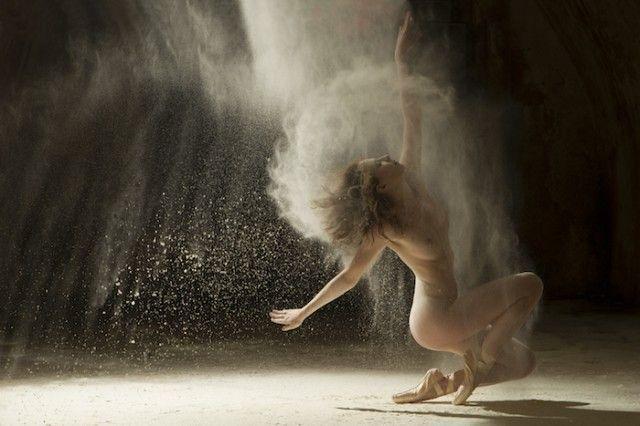 Danseur-farine