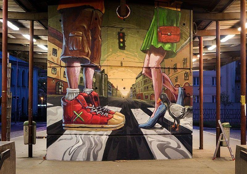 Fat Heat Hongrie Street artiste