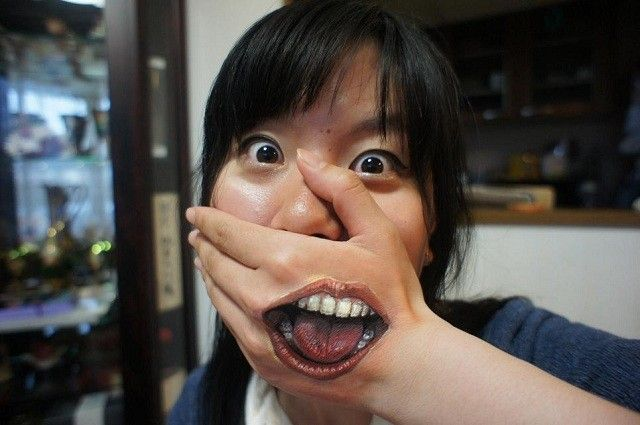 Hikaru Cho illusion mouth
