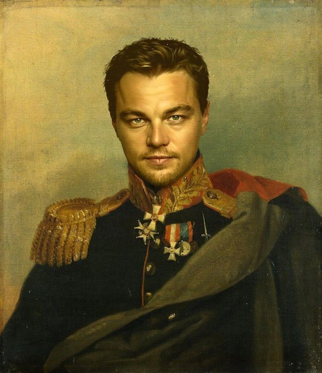 Leonardo DiCaprio Peinture