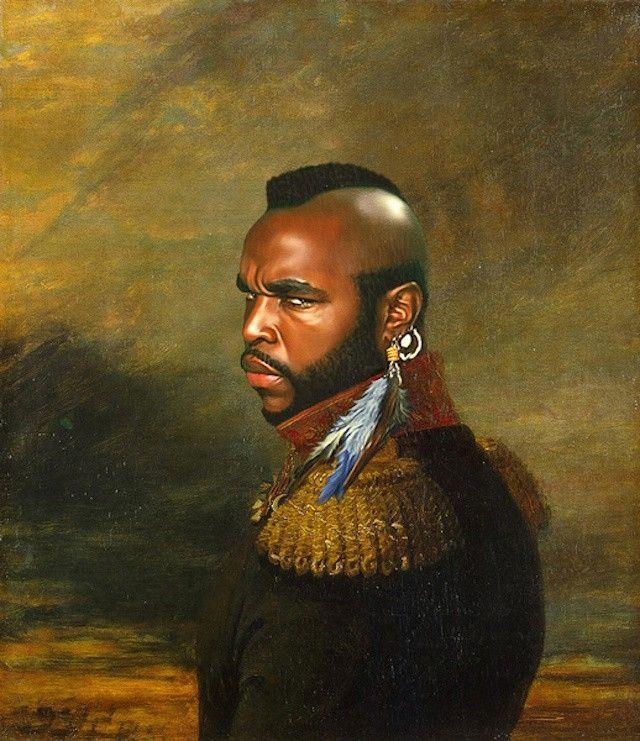 Mr T Peinture