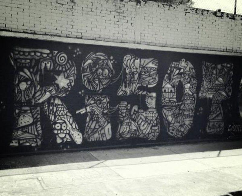 Rizot graffiti 2013
