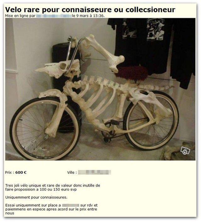 Vélo-squelette