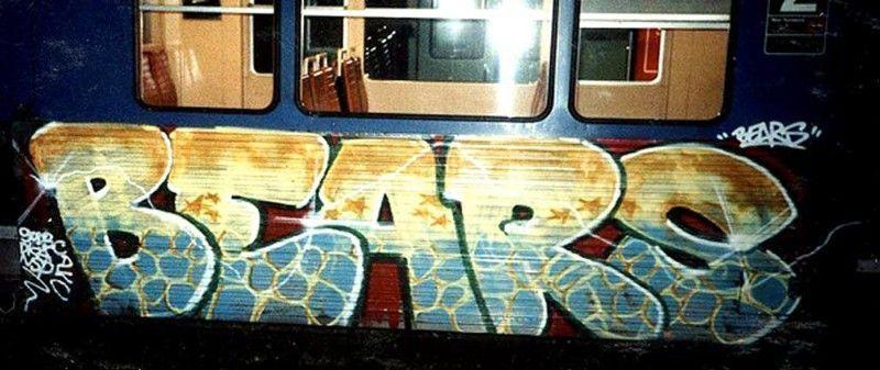 graffiti bears 1994 St lazare