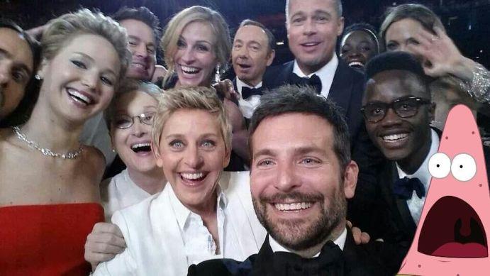 selfie patrick