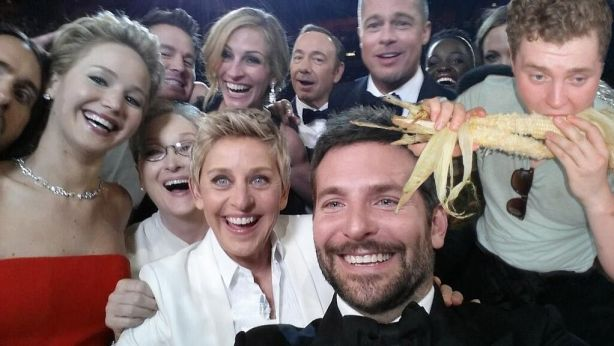 selfie maïs