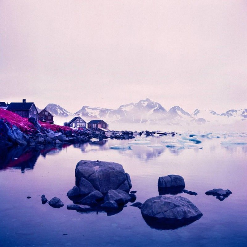 Arctic-Landscape-Transformed-into-Infrared-Paradise-by-Daniel-Zvereff