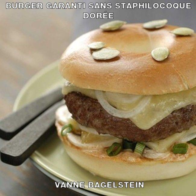 Bagelstein burger