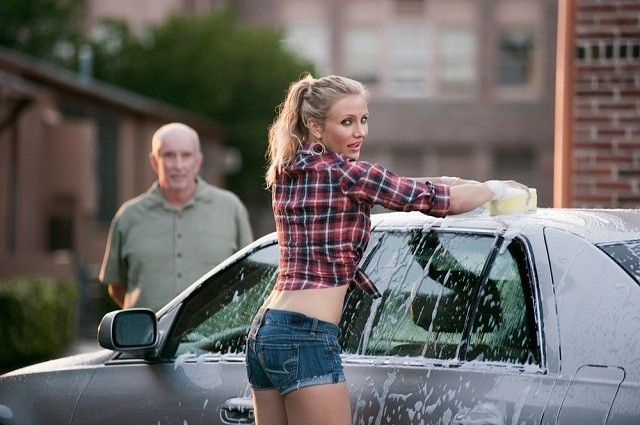 La laveuse de voitures