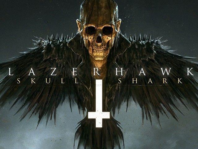 Lazerhawk skull & shark