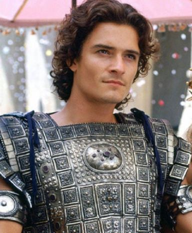 Orlando Bloom Paris Troie