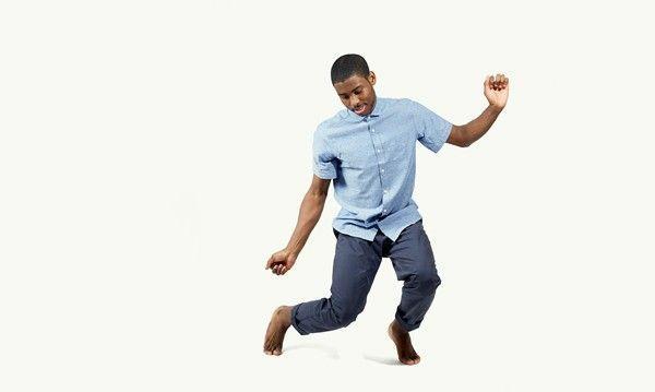 chemise bleu&pantalon