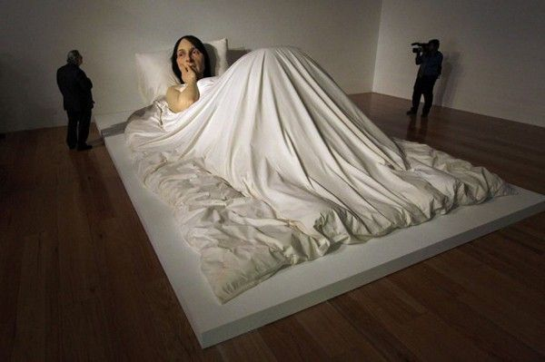 in bed sculpture
