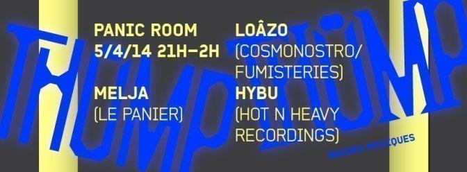 panic room bass music