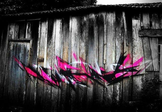 tagg l7m rose et noir